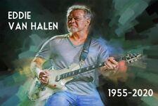 Eddie Van Halen tribute fridge magnet - new!