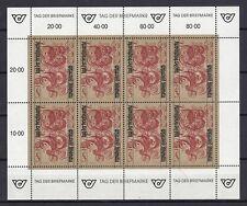 Österreich 1991 postfrisch Kleinbogen  MiNr.  2032  Tag der Briefmarke