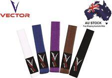 Brazilian Jiu Jitsu BJJ Belt 100% Cotton Pro Quality IBJJF Standard by Vector