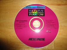 RETURN OF THE PHANTOM (1995) for IBM DOS WINDOWS PC - Disc