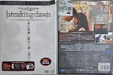 The Twilight Saga Breaking Down Part 1 ( 2 Dvd + Blu-Ray) Sigillato Deluxe