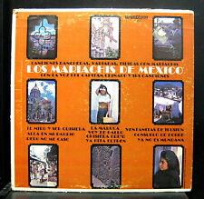 Los Mariachis De Mexico Con La Voz Del Capitan LP VG+ K-801 Vinyl GranDisco