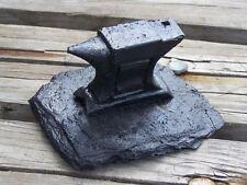 Anvil Hand-Crafted Kentucky Coal Figurine ~ Folk Art ~ New