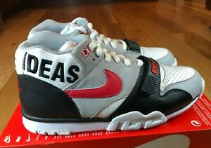 Nike Air Trainer 1 TEDxPortland White Red Black CT4127 100 Size 10.5 NOBOXTOP