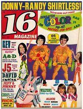 16 SEPT 1973 VINTAGE TEEN MAGAZINE NICE!