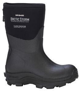 DRYSHOD Women's Arctic Storm Mid Size 11 Black/Grey Waterproof Insulated Boots