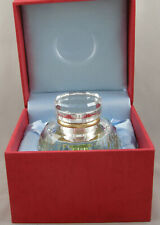 Jac Zagoory Gem Faceted Spectrum Crystal Inkwell - New, Mint In Box - Stunning
