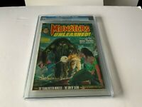 MONSTERS UNLEASHED 3 CGC 9.6 SON OF SATAN PREVIEW MAN-THING MARVEL COMICS 1973