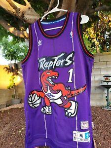 Tracy McGrady 1997-98 Toronto Raptors Hardwood Classic Jersey Adidas Size- M