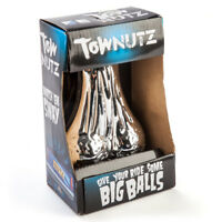 CHROME TOW NUTZ - NOVELTY TOW NUTS TOW BALLS - CAR TRAILER
