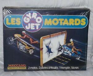 Gyrojet Gyro Jet LES MOTARDS - Meccano - années 70-80 vintage Neuf
