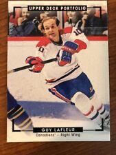 2015-16 UD Portfolio Color Photo Hockey #277 Guy Lafleur