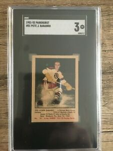 1951-52 PARKHURST #51 Pete BABANDO SGC 3 (VG) Rookie RC!