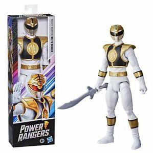 Power Rangers 30cm Mighty Morphin White Ranger Figure (VHTF) ... Brand New!