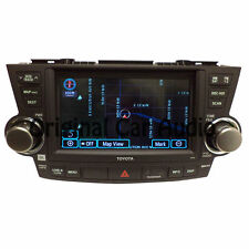 TOYOTA Highlander JBL Navigation GPS Radio LCD Screen MP3 CD DVD Player SAT OEM