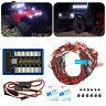 RC LED Light Kit Brake+Headlight+Signal 2.4G PPM FM For HSP 1:10 Car truck
