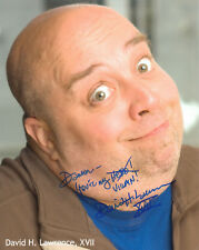 DAVID H. LAWRENCE XVII - Actor - Heroes (Puppetmaster) / Lost - Autograph Photo