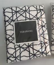 *NEW*Vera Wang**Ink Wash Floral Netting**European Sham**New in Package