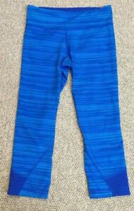 WOMENS XS UNDER ARMOUR ACTIVE WEAR PANTS bottoms ALL SEASON GEAR FITTED blues