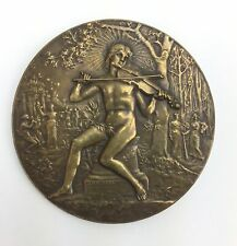 VIOLIN: Portrait Medal by Alphee DUBOIS (Artist)