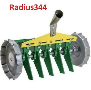 Metal Precision Hand Row Steel Seeds 5 Row Vegetable Manual Garden Home Seeder