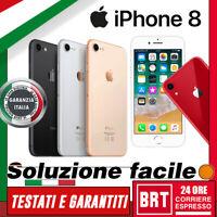 NUOVO! SMARTPHONE APPLE IPHONE 8 64GB/256GB SBLOCCATO 12 MESI GARANZIA ITALIA!!!