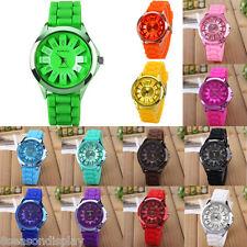 FL Unisex Sports Wrist Watch Jelly Women Dress Silicone Quartz Fashion