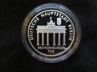 Berliner Republik Deutsche Hauptstadt Berlin Silber 999 PP Medaille