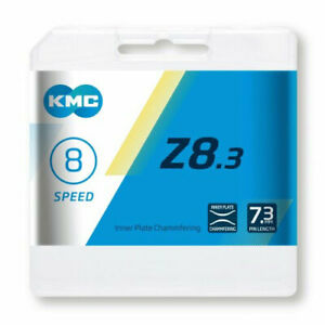 New Boxed 2021 KMC Z8.3 8/7 SPEED Chain inc Power Link Shimano Sram Campag Fit