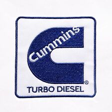CUMMINS LOGO IRON-ON PATCH Diesel Turbo Engine