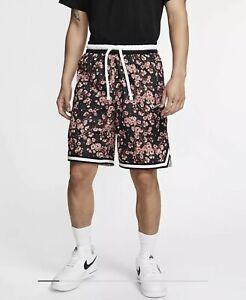 New Nike DNA Floral Cherry Blossom Basketball Shorts Men's Sz Large BV9443-606