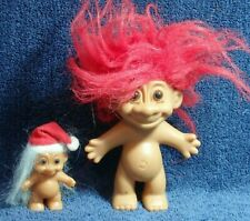 LOT OF 2 DIFFERENT TOY TROLLS BY RUSS COMPANY