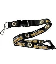 Boston Bruins - Lanyard Keychain -NWT NHL Licensed