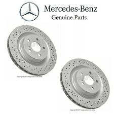 Mercedes R171 SLK55 W209 CLK55 CLK63 AMG Rear Pair set of 2 Disc Brake Rotors OE