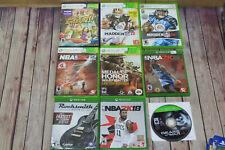Mixed Lot of Videogames games Xbox One Ps3 xbox 360 NBA 2k 12 15 18 Tony Hawk