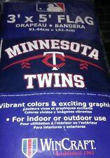 Minnesota Twins Mlb flag New Dorm Wall Banner Indoor Outdoor 3x5 feet