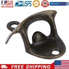 Bottle Opener Wall Mounted Vintage Beer Open Tool Home Bar Decor (Coppery)