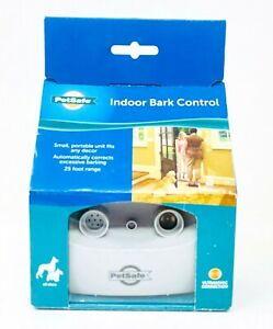 PetSafe Indoor Ultrasonic Dog Bark Control Anti-Bark Pet Training System New