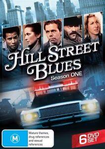 Hill Street Blues Season 1 DVD 6 disc set New and Sealed Australia Region 4