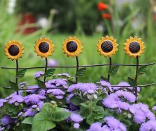 Miniature Sunflower Fence metal  WS 1327 Fairy Garden Dollhouse Terrarium