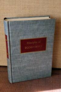 PRINCIPLES OF ECONOMICS • Albert E. Waugh • 1947 First Ed. 2nd Impression