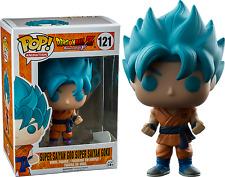 Exclusive Dragon Ball Z - Super Saiyan Blue Goku God Funko Pop Vinyl NEW in Box
