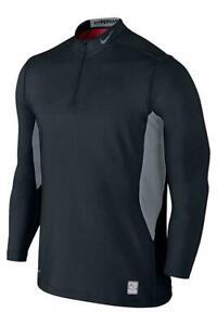 Nike Mens Hyperwarm Dri-fit Max Fitted Hypercamo Mock 543596-010
