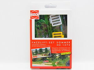 Lot 17831 Busch Ho 1273 Face Lift Kit Summer Plants Grass Fibres New IN Boxed