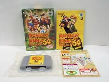 N64 -- Donkey Kong 64 -- Boxed. Can Backup! Nintendo 64, Japan Game. 27265