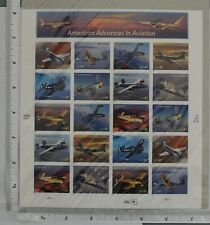 AMERICAN ADVANCES IN AVIATION - FULL SHEET UNOPENED