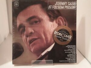 Johnny Cash At Folsom Prison 300 Piece Puzzle Of Album Cover Double Sided NEW