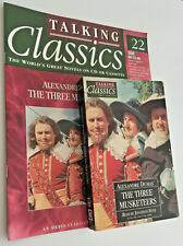 The Three Musketeers Audio Cassette & Magazine Book By A Dumas, Jonathan Hyde