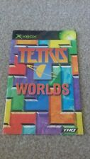 xbox instruction booklet manual tetris worlds