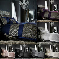 Sequin Bedding Set Size Single Double SuperKing Glitter Duvet Cover Set Luxury